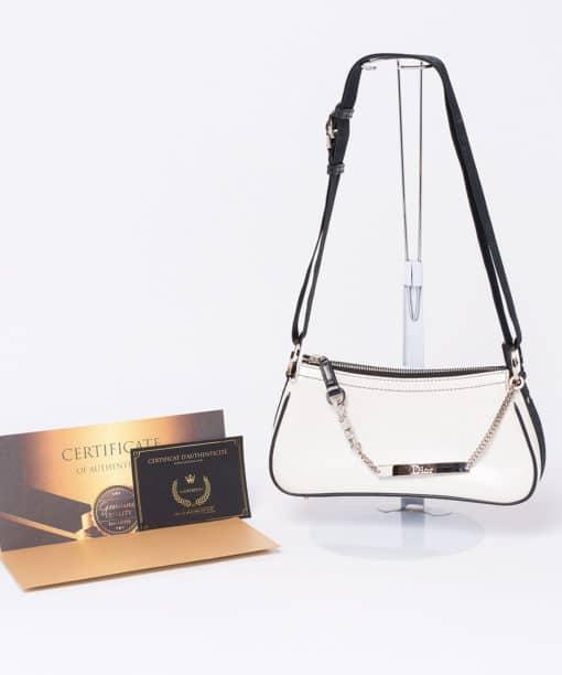Pochette Dior bijoux Swarovski