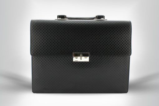 Gucci Porte-documents en cuir noir modèle 2018 occasion