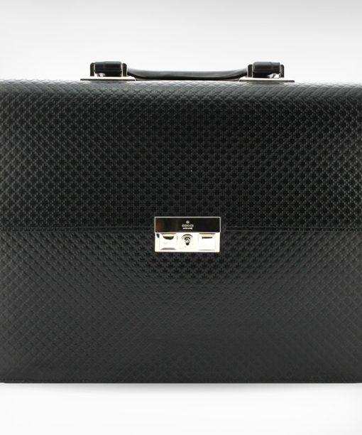 Gucci Porte-documents en cuir noir modèle 2018 occasion