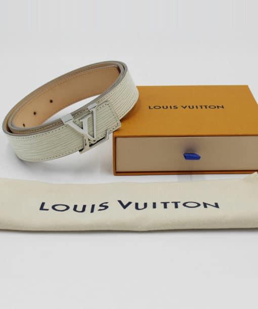 Ceinture Louis Vuitton LV initiales