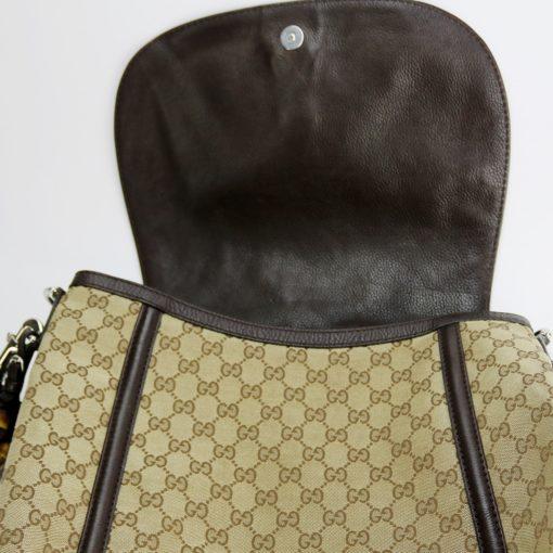 Sac Gucci en toile monogram