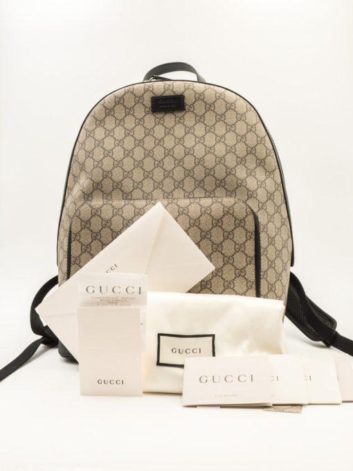 Sac à dos Gucci Suprême GG
