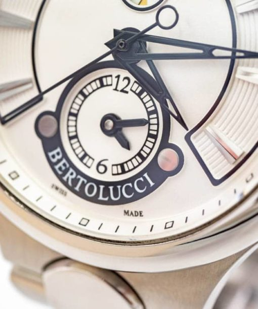 Montre Bertolucci authentique d'occasion Serena Garbo Dual Time automatique