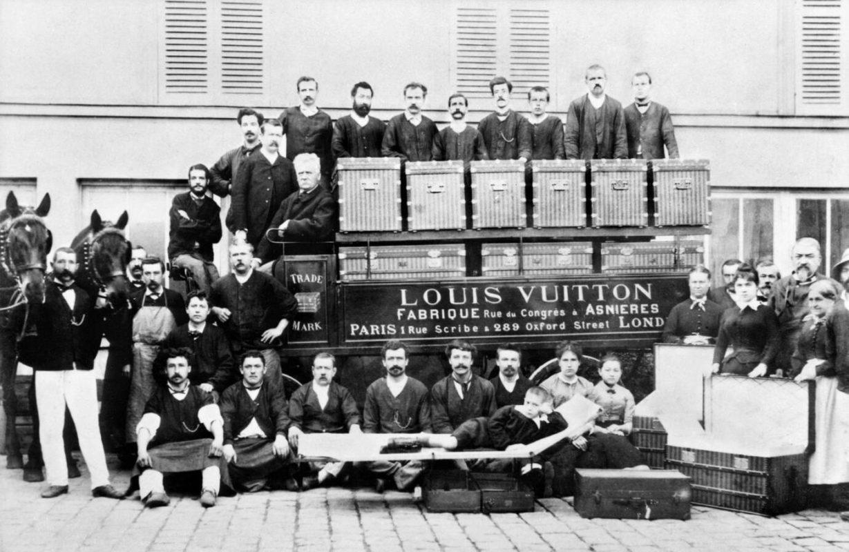 Ouvriers Louis Vuitton - Fabrique d'asnières