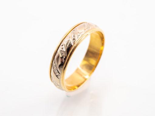 Alliances de mariage en or 18k