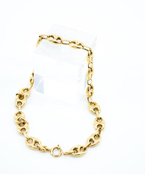 Bracelet Grain de café homme et femme en or