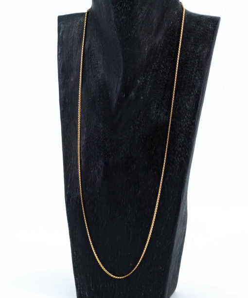 Chaine en or jaune 18k pour pendentif