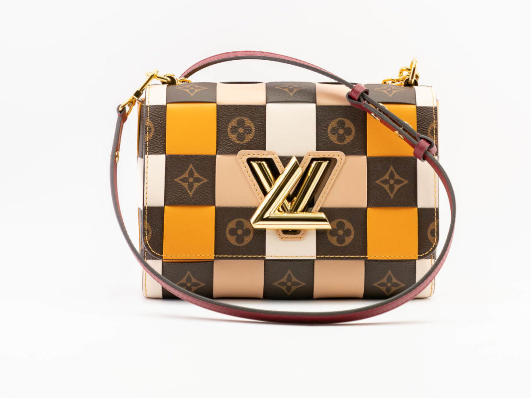 Louis Vuitton Twist MM Damier Check M55426