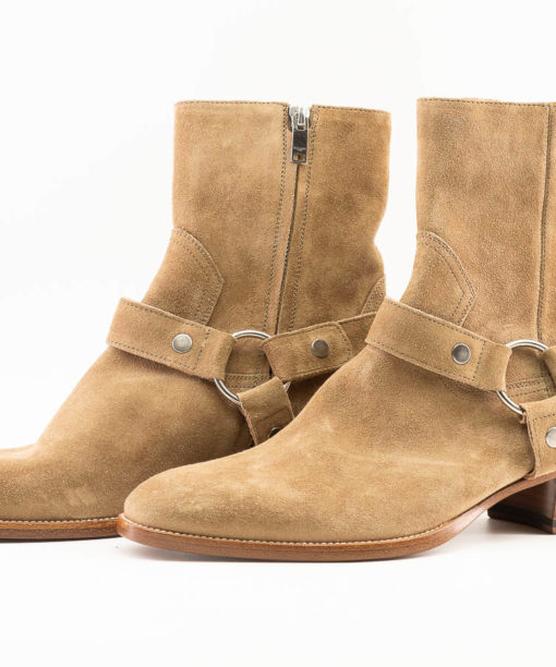 Bottes Saint Laurent WYATT en suede