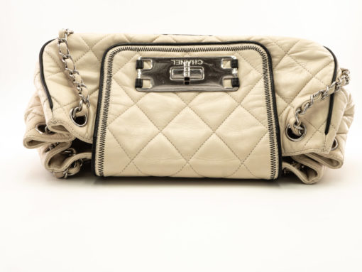 Sac Chanel East West Mademoiselle Accordion Flap