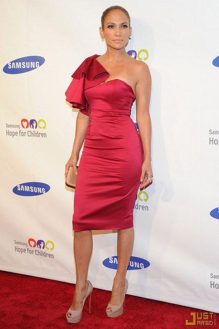 Escarpins Christian Louboutin Lady Peep - Jennifer Lopez