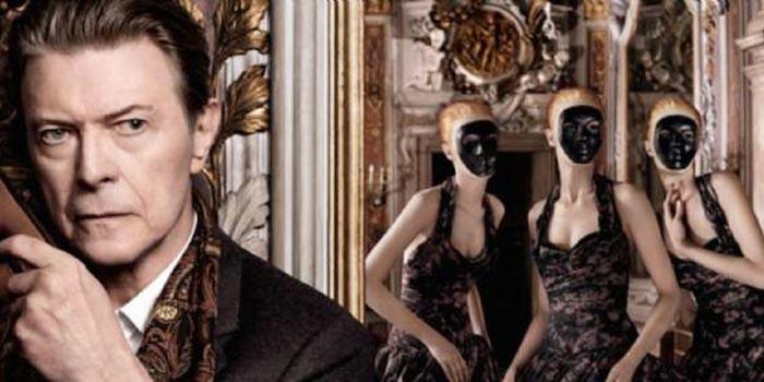 Maison Louis Vuitton avec David Bowie