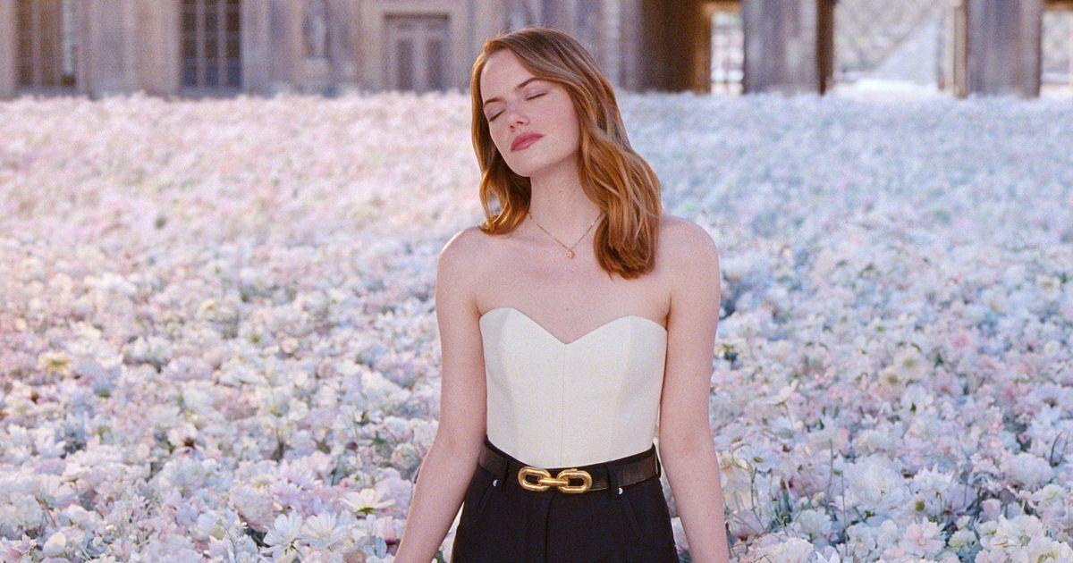 Parfum maison Louis Vuitton x Emma Stone