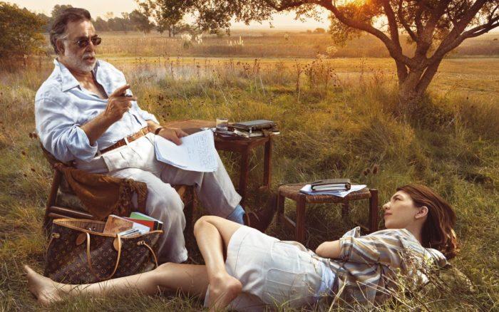 Maison Louis Vuitton avec Sofia et Francis Coppola