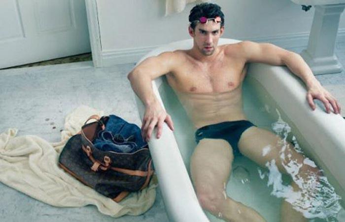 Maison Louis Vuitton x Michael Phelps
