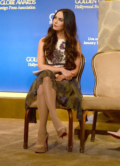 Escarpins Christian Louboutin Lady Peep - Megan Fox