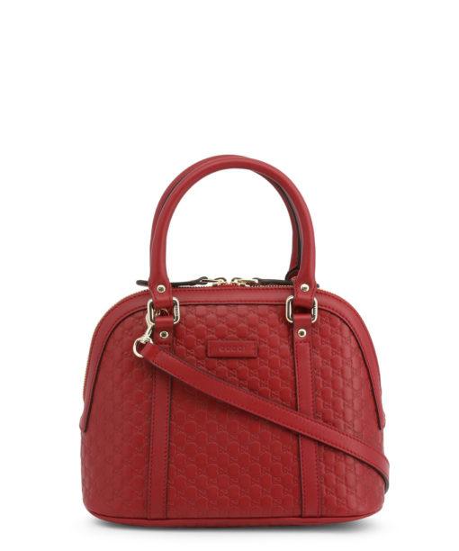 Sac Gucci GG Guccissima Mini cuir monogram empreint couleur rouge