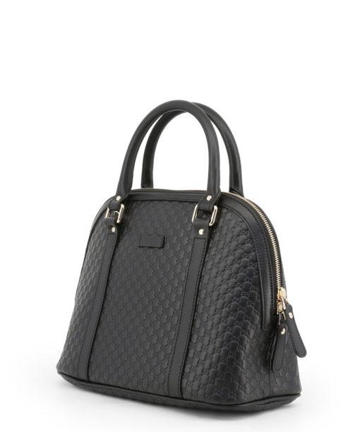 Sac Gucci Signature GG Medium cuir monogram empreint noir