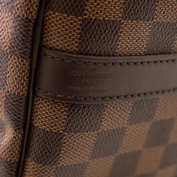 Sac Louis Vuitton Speedy 30 bandouliere Damier Ebene