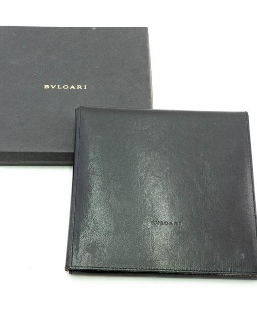 Bulgari Yin Yang Collier en or blanc 18k, Onyx et Acier